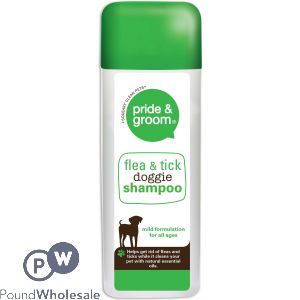FLEA AND TICK SHAMPOO 300ML