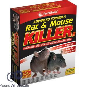 PESTSHIELD RAT & MOUSE KILLER