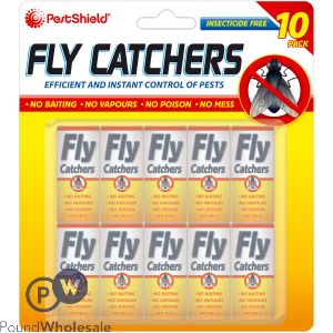 PESTSHIELD FLY CATCHERS 8PK