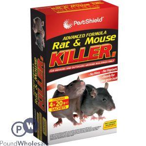 ADVANCED FORMULA RAT & MOUSE KILLER 4 X 20G