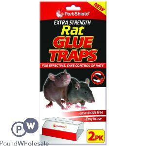 PEST SHIELD EXTRA STRENGTH RAT GLUE TRAPS
