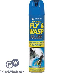 NEW FORMULA FLY & WASP KILLER AEROSOL 300ML