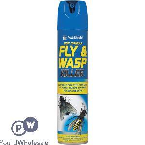 NEW FORMULA FLY & WASP KILLER AEROSOL 300ML