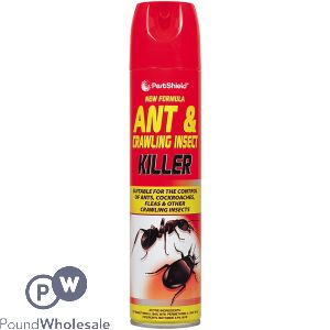 NEW FORMULA ANT & CRAWLING INSECT KILLER AEROSOL 300ML