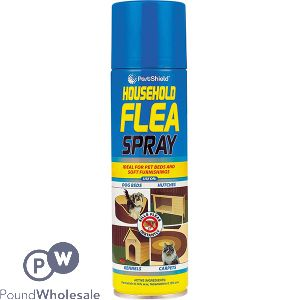 PESTSHIELD HOUSEHOLD FLEA AEROSOL 200ML