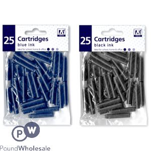INK CARTRIDGES BLACK/BLUE ASSORTED
