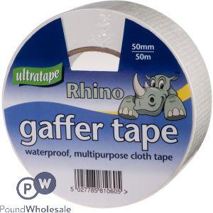 ULTRATAPE RHINO GAFFER TAPE 50MM X 50M