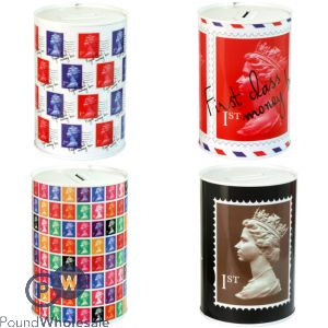 ROYAL MAIL MONEY TINS