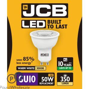 JCB LED GU10 5W=50W WARM WHITE 3000K BOX