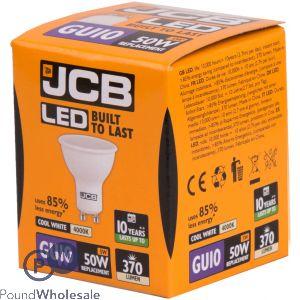 JCB LED GU10 5W=50W COOL WHITE 4000K BOX