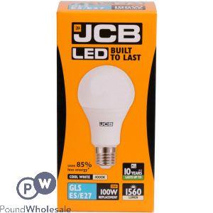 JCB LED GLS 15W 100W COOL WHITE 4000K ES E27