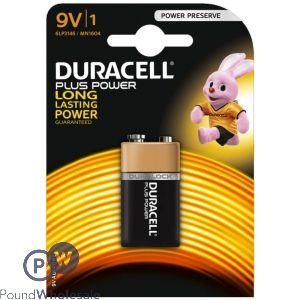 DURACELL PLUS POWER 9V BATTERY 6LP3146/MN1604