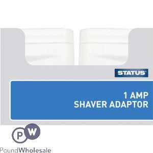STATUS 1AMP SHAVER ADAPTOR