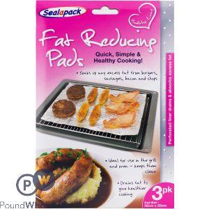 SEALAPACK FAT REDUCING PADS 3 PACK