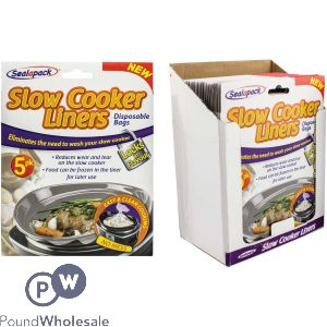 SEALAPACK SLOW COOKER LINERS 5 PACK CDU