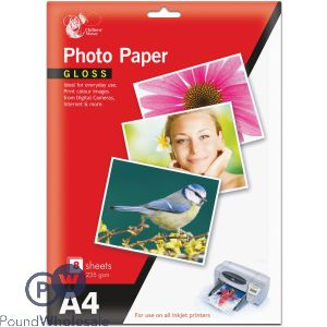 CHILTERN WOVE A4 GLOSS PHOTO PAPER 235GSM 8 SHEETS