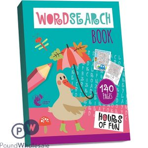 WORDSEARCH BOOK 140 PAGES