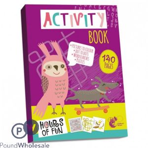 ACTIVITY BOOK 140 PAGES ( NO VAT)