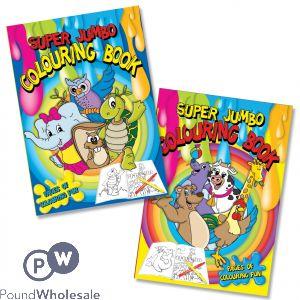 Super Jumbo Colouring Book