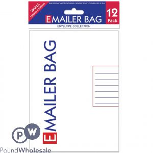 Ee Mailer Bags Small Pack 12