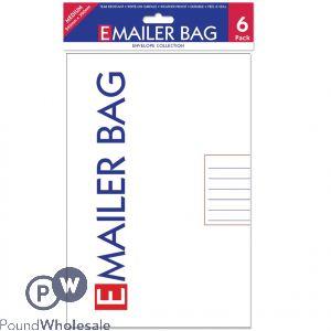Ee Mailer Bags Meduim Pack/6