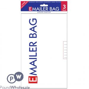 Ee Mailer Bags Large Pack/3