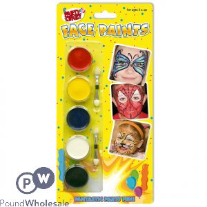 5 FACE PAINTS