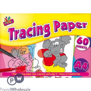 60 Sheet A4 Tracing Paper Pad