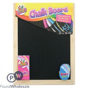 CHALK BOARD SET (23 X 30cm)