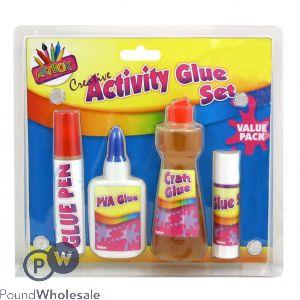 4 Piece Glue Set