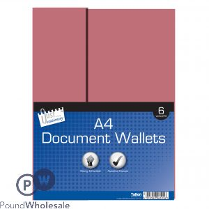 6 Document Wallets