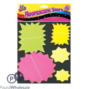 50 Flourescent Stars (Assorted)