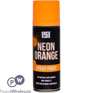 151 SPRAY PAINT - NEON ORANGE 200ML