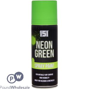 SPRAY PAINT - NEON GREEN 200ML
