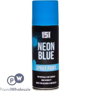 151 NEON BLUE SPRAY PAINT 200ML