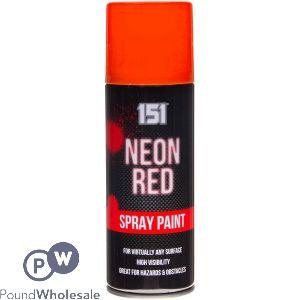 SPRAY PAINT - NEON RED 200ML