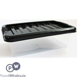 PLASTIC STORAGE BOX WITH LID MINI 6LTR