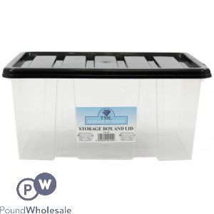 PLASTIC STORAGE BOX WITH LID MIDI 7LTR