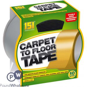 151 CARPET TO FLOOR TAPE 10M