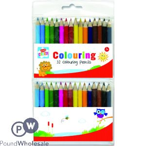 KIDS CREATE 23 MINI COLOURING PENCILS