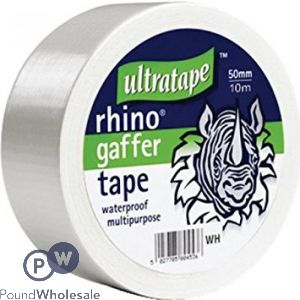ULTRATAPE RHINO GAFFER TAPE 50MM X 10M