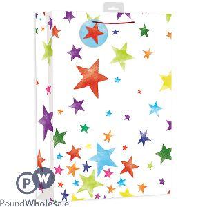 GIFTMAKER BRIGHT STARS GIFT BAG XL