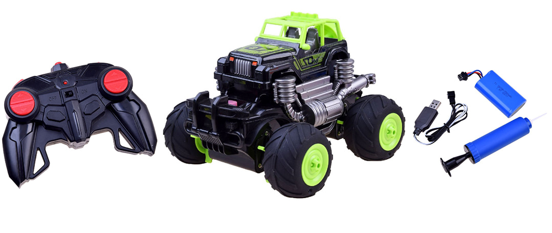 BRAND NEW: The RC Monster Truck That Drives on Land & Water!